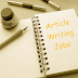 Article Writing Jobs In Pakistan