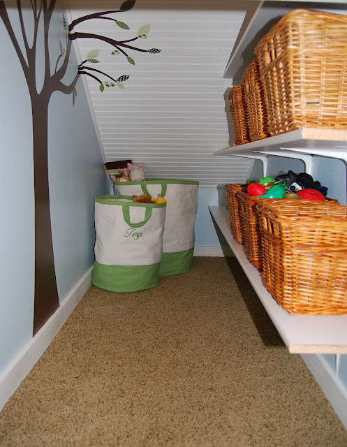 how to create storage space in a small house