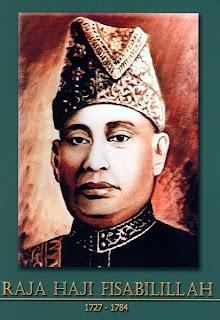 gambar-foto pahlawan nasional indonesia, Raja Haji Fisabilillah