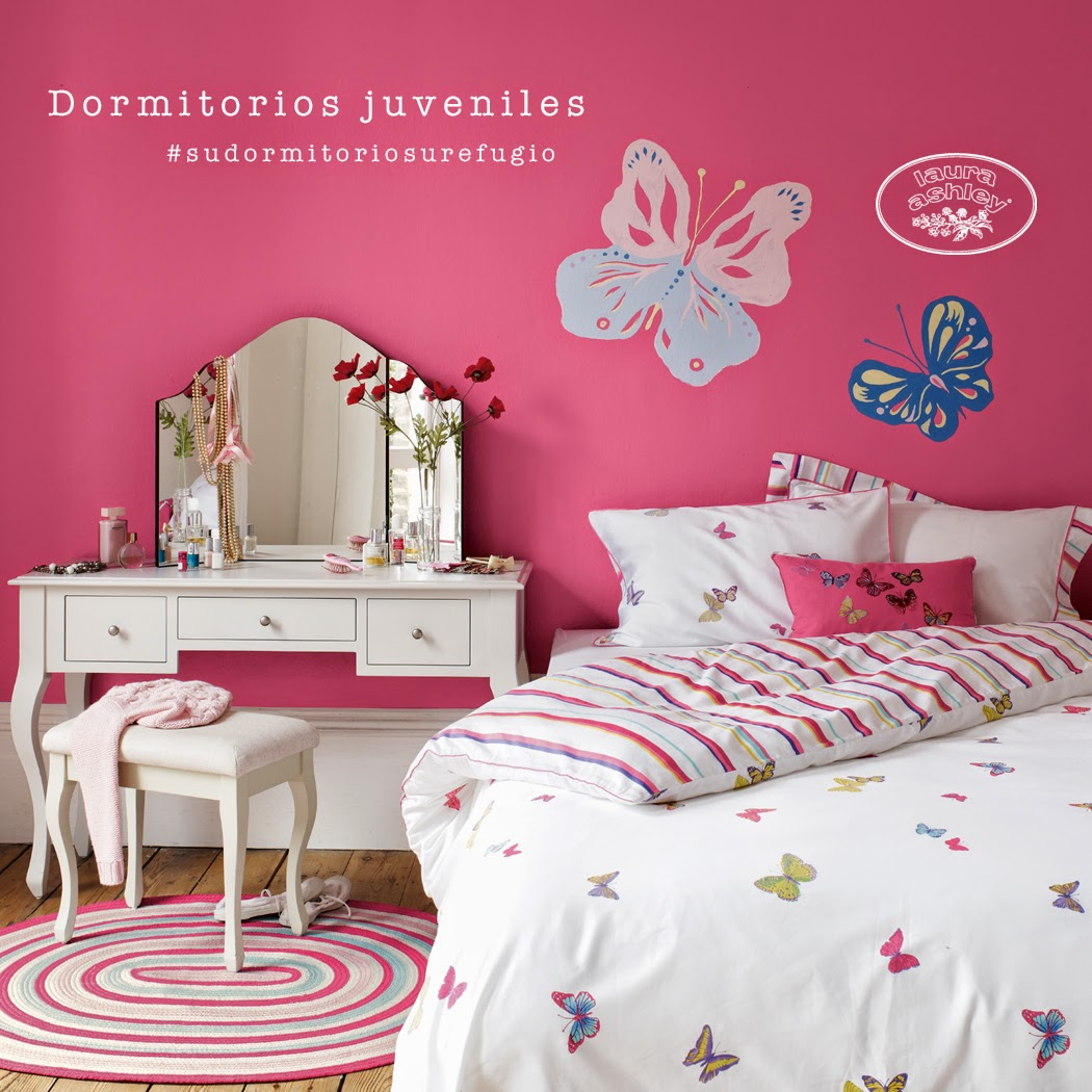 Dormitorios juveniles Laura Ashley