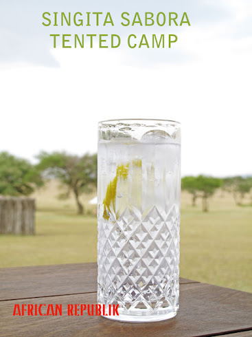 Gin and Tonic at Singita Sabora