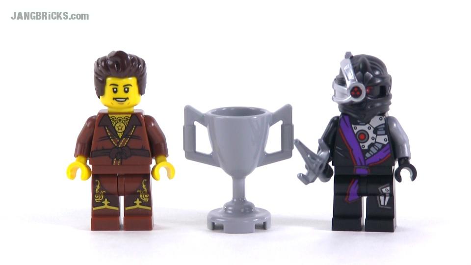 Lego ninjago dareth vs nindroid promotional polybag - Ninjago vs ninjago ...
