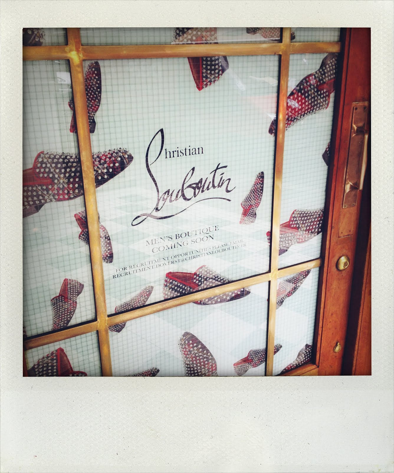 00O00 London Menswear Blog Christian Louboutin Men's Boutique, 35 Dover Street, London W1S 4NQ
