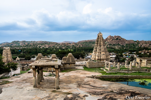 sacred center hampi temple