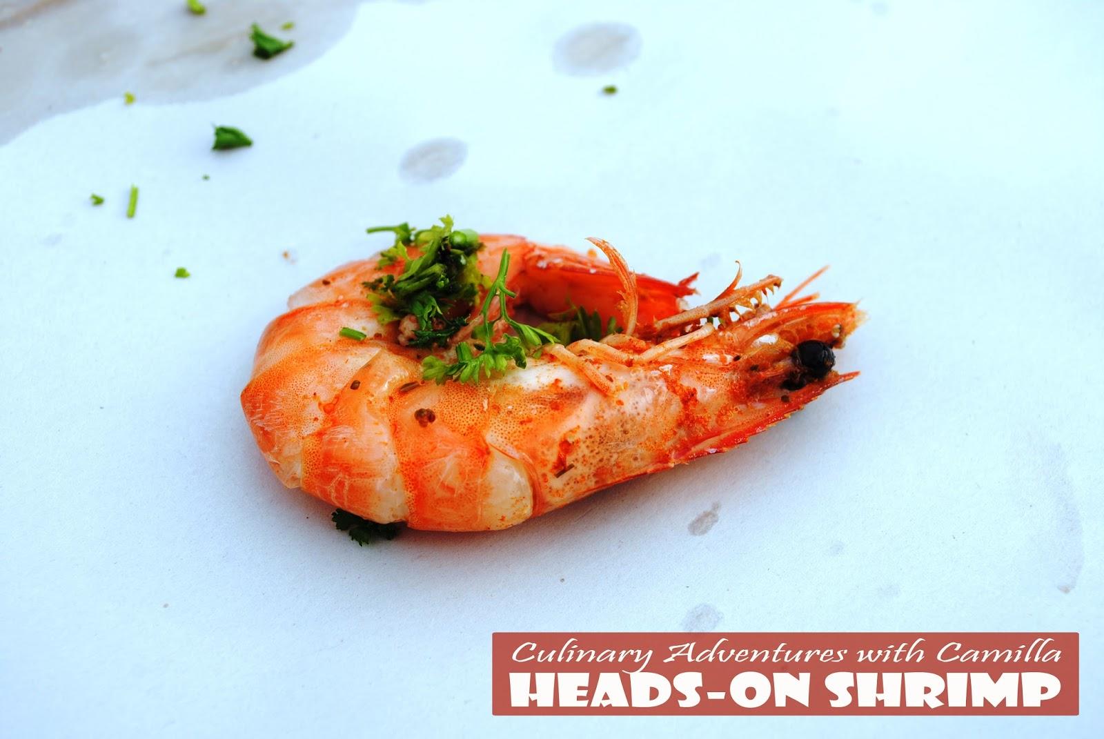 How to eat shrimp