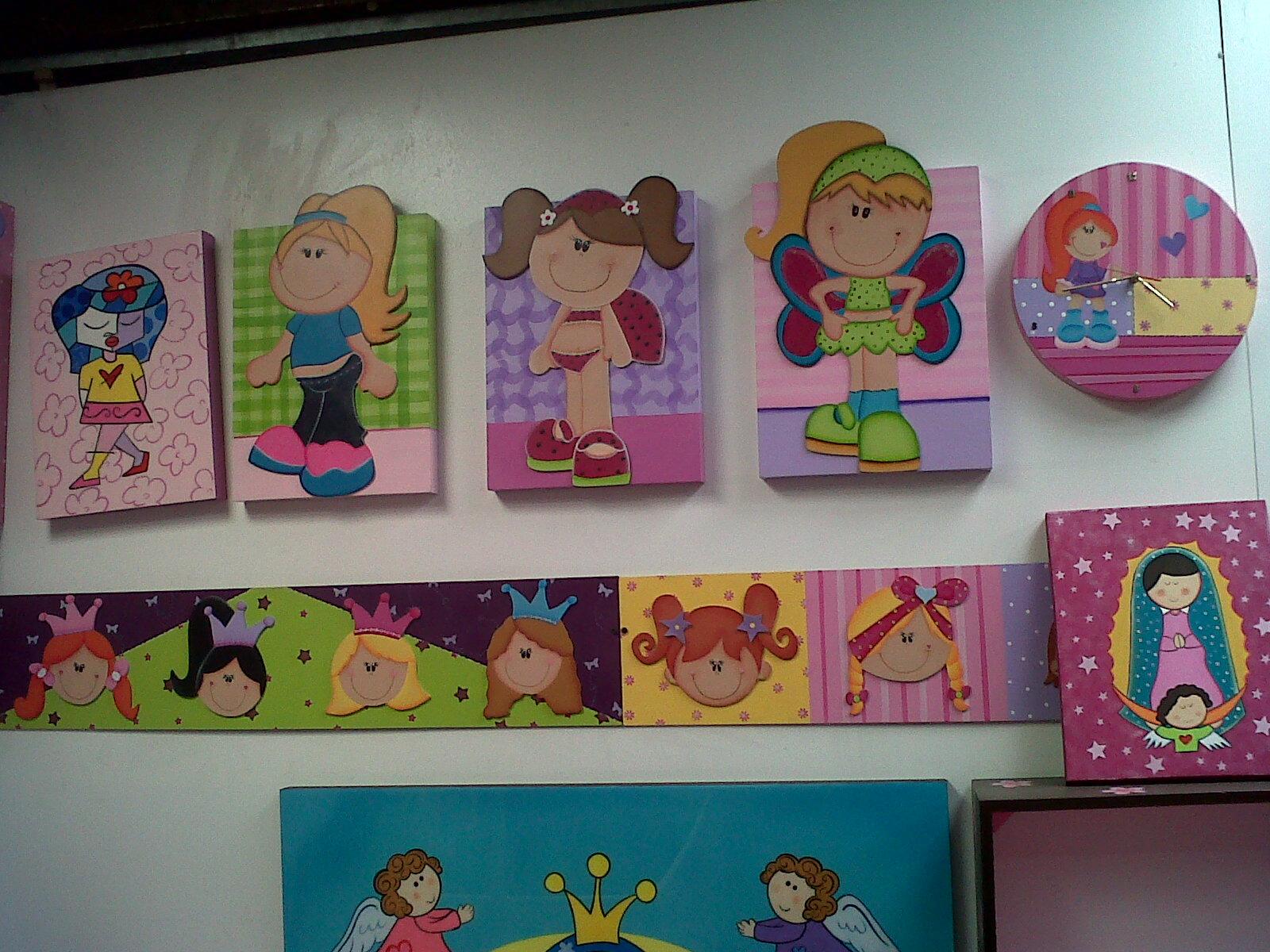 arte pop bogota: decoracion cuarto infantiles