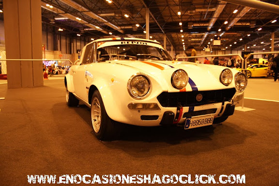 Fiat 124 spider abarth en Madrid Motor Days