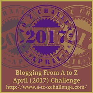 #AtoZChallenge April 2017