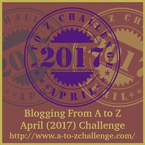 #AtoZChallenge April 2017