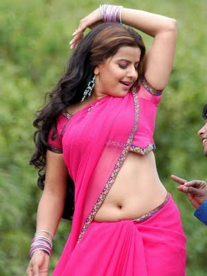 Telugu-Actress-Madhu-Sharma-Hot-In-Navel