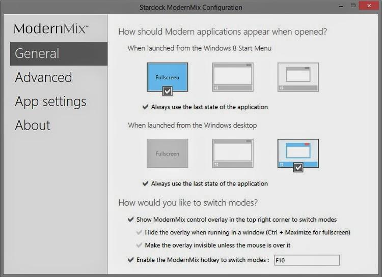 Run Windows 8 Metro Apps on Desktop Mode