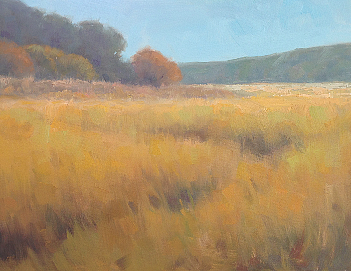 Summer into Fall    14 x 18 inches | oil on canvas | Steve Allrich