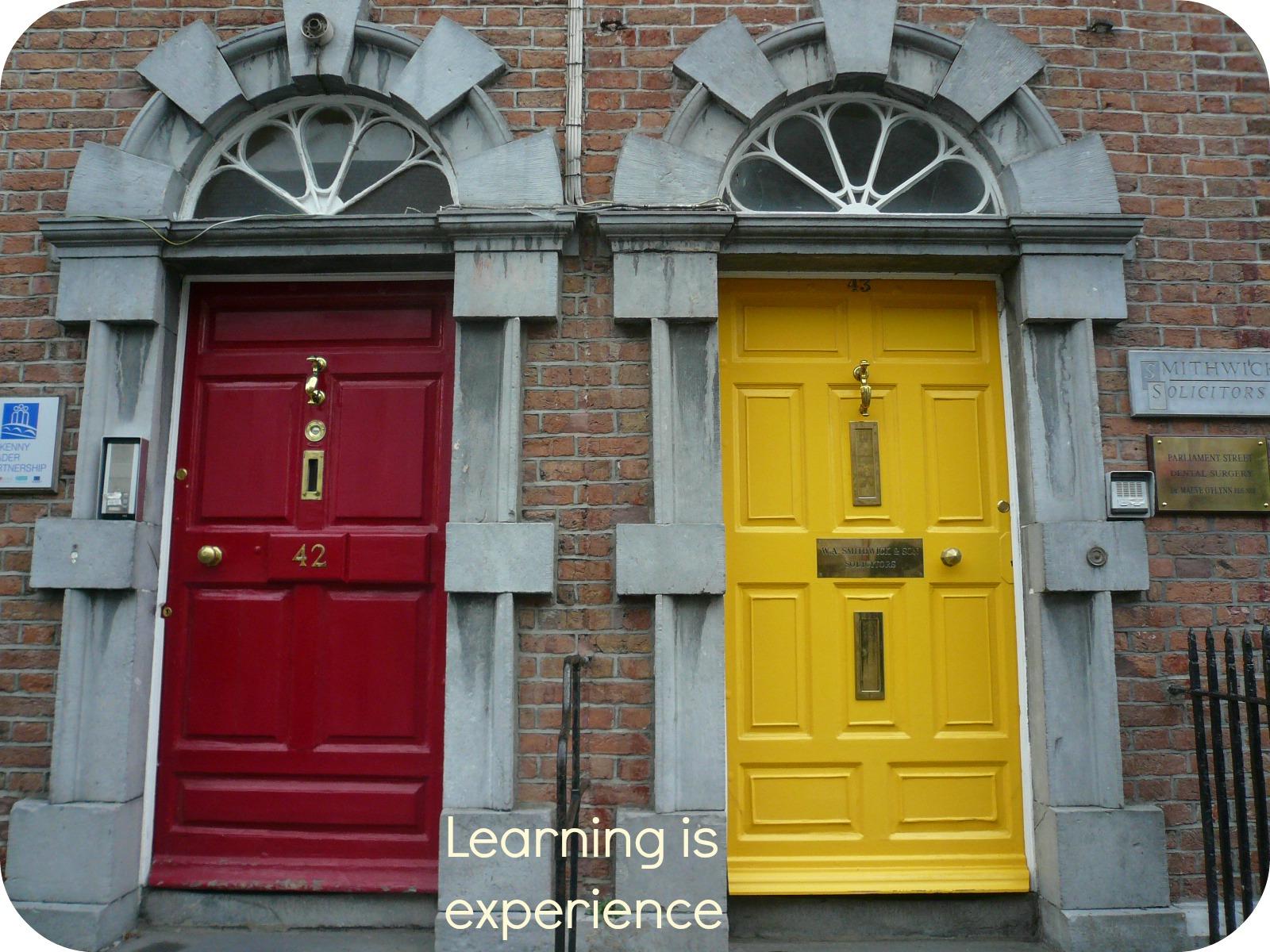 Learning is experience le finestre e le porte dei miei - Finestre e porte ...