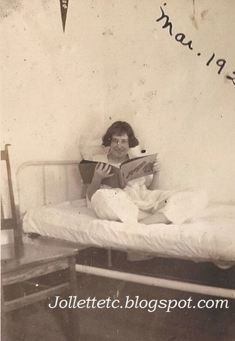 Velma Davis March 1925