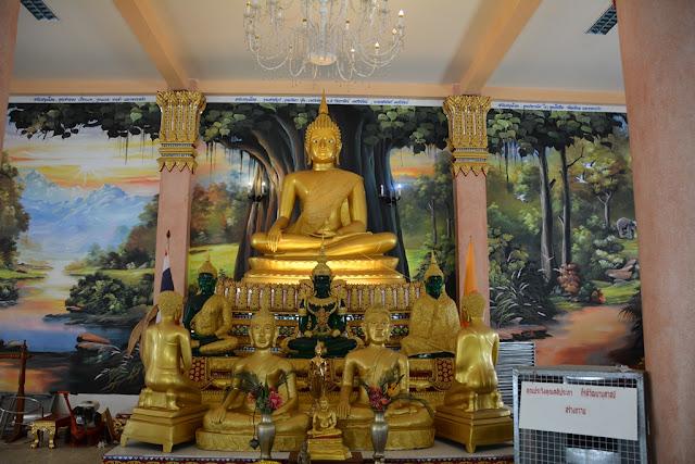Wat Karon Phuket altar