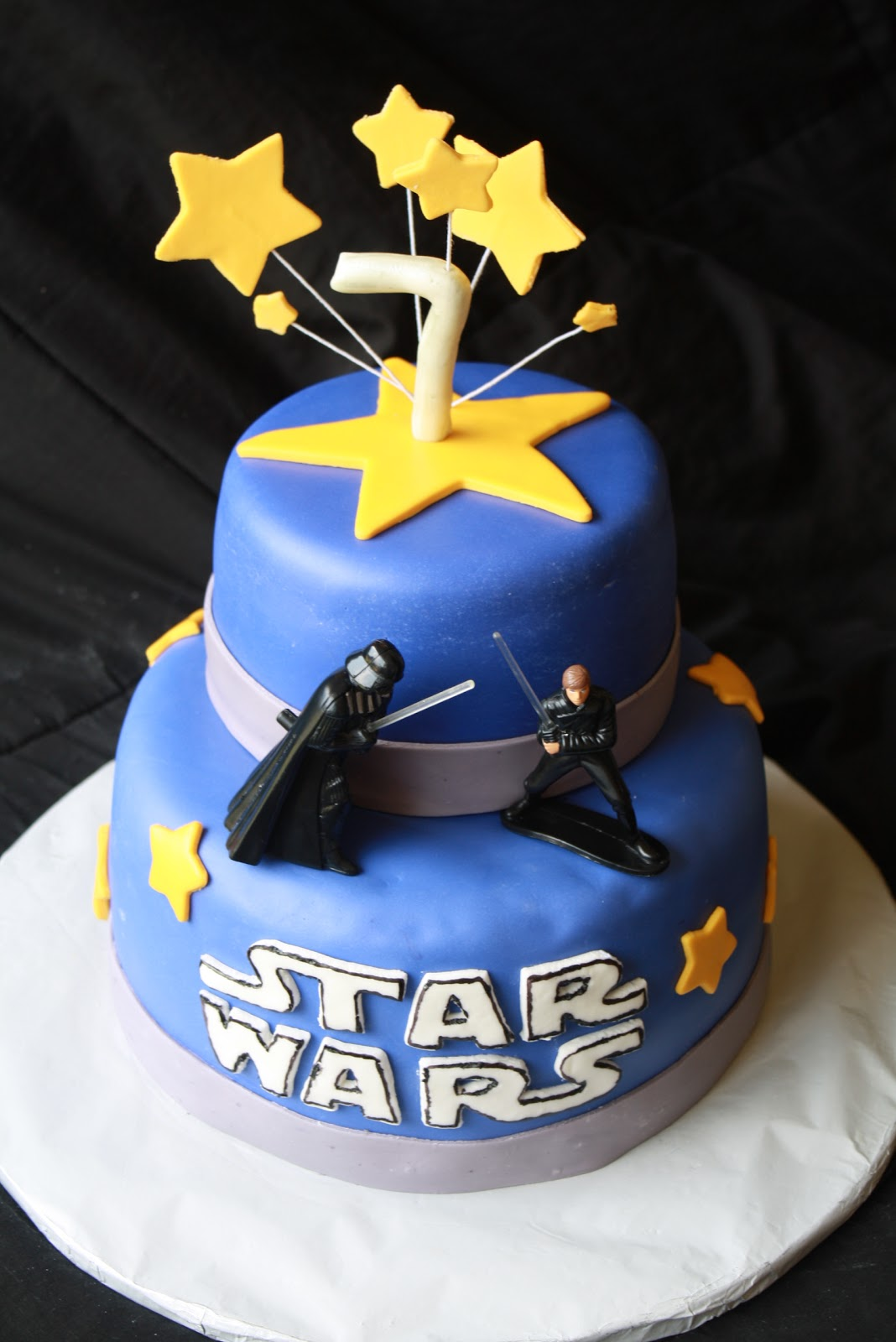 birthday cake star wars