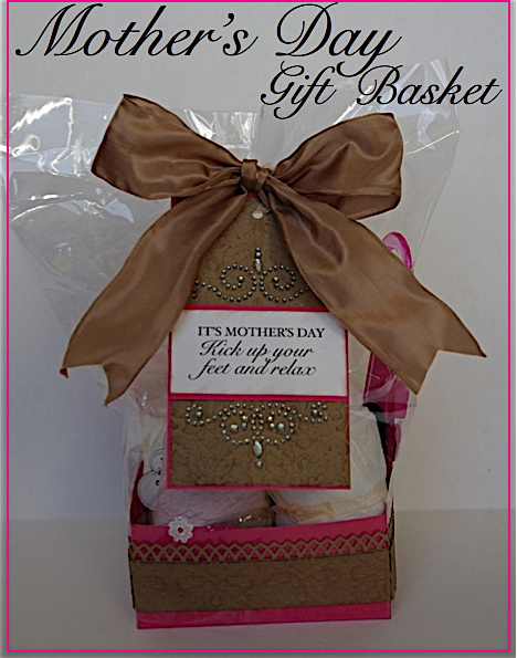 Creative Try Als Diy Mother 39 S Day Basket Kick Up Your Feet