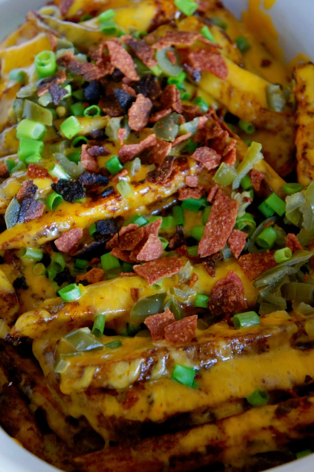 Skinny Texas Cheese Fries: Savory Sweet and Satisfying