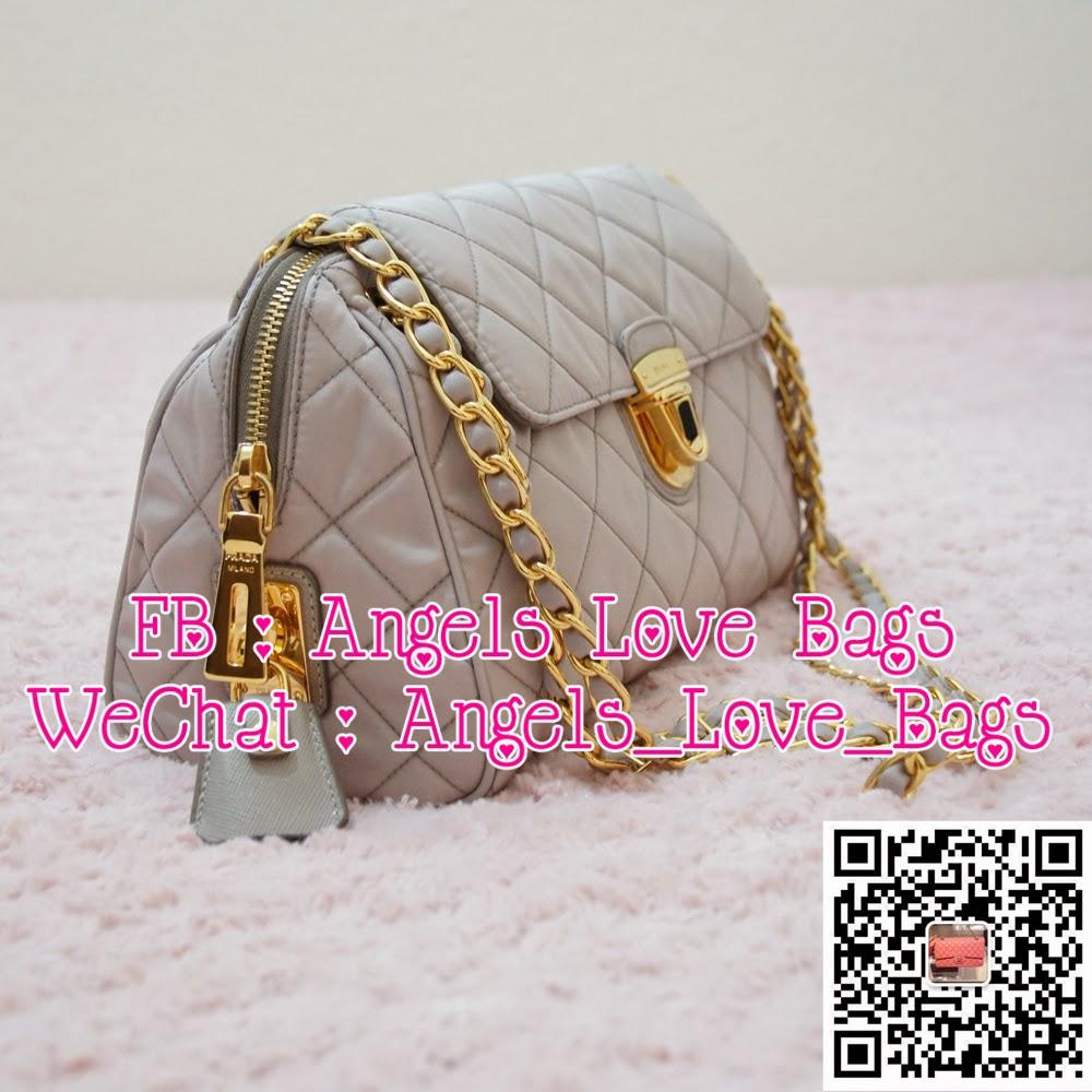 prada bags brown leather - Angels Love Bags - The Fashion Buyer: ? PRADA Tessuto Impuntu ...