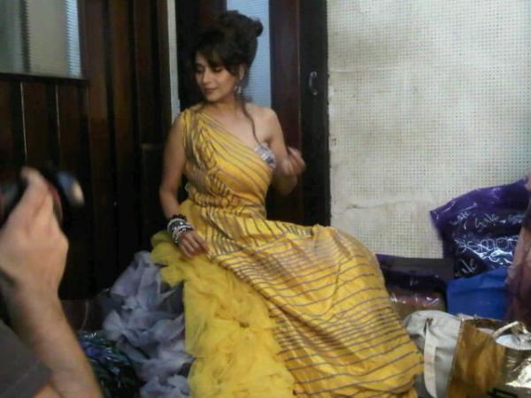 , Madhuri Dixit on Filmfare Magazine Photoshoot Sets