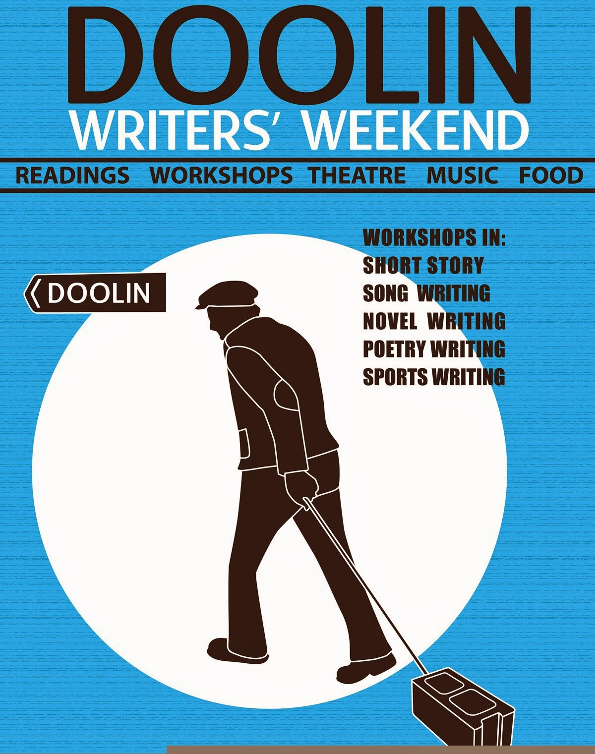 Doolin Writers Weekend line-up announced