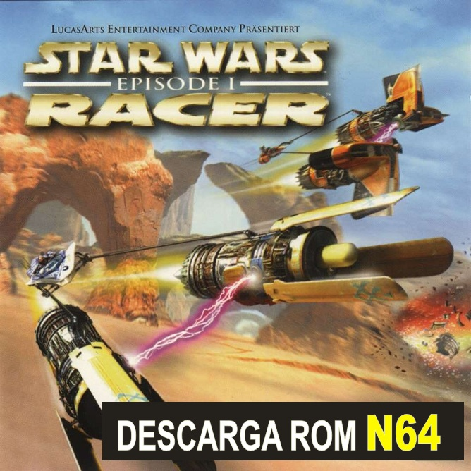 Star Wars Episode 1: Racer n64 descarga rom