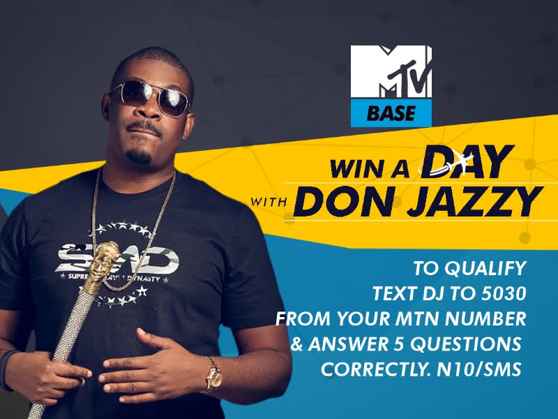 WIN A DAY WITH DON JAZZY!