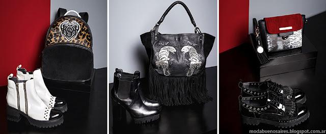 Kosiuko invierno 2015 moda accesorios. Botas, zapatos, carteras, sobres y bolsos invierno 2015.