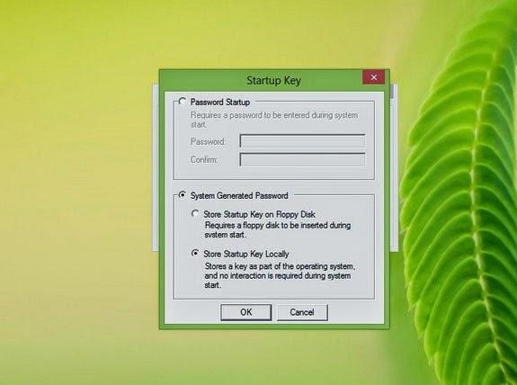 Cara Memberi Password Startup Windows