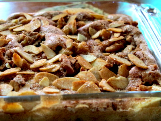 frozen wings: Cinnamon Apple Walnut Torte