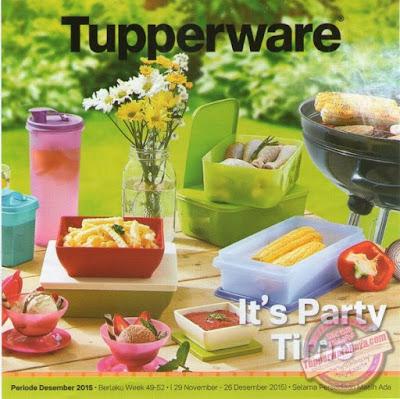 Promo Tupperware Desember 2015