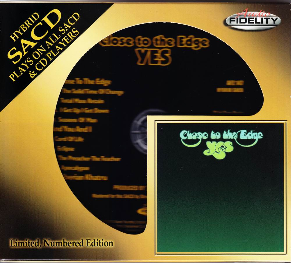 Yes – Close To The Edge (1972) [2012 Audio Fidelity SACD AFZ 147] {2.0 & 5.0} [PS3 ISO + FLAC]