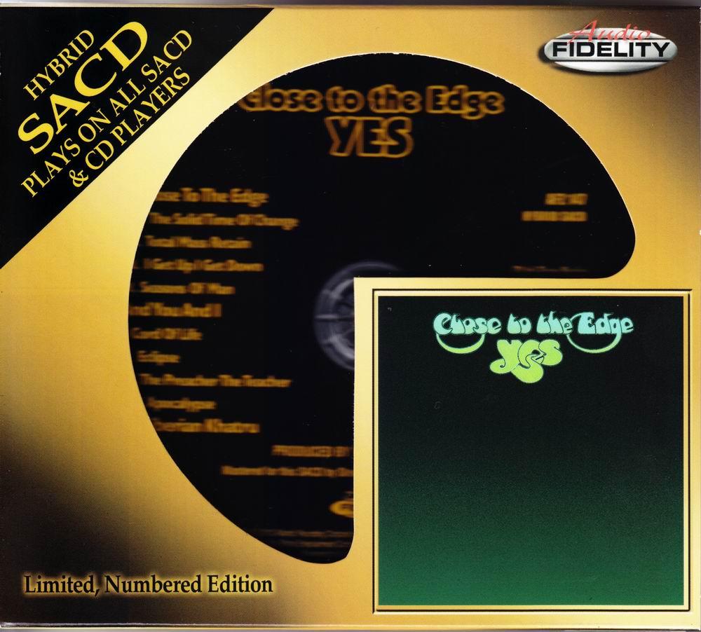 Yes – Close To The Edge (1972) [2012 Audio Fidelity SACD AFZ 147] {SACD ISO + FLAC 24/88,2]