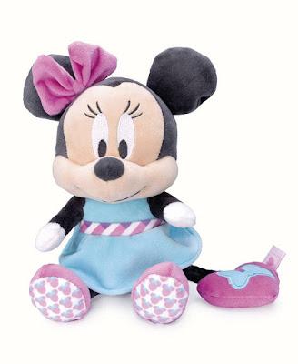 TOYS : JUGUETES - DISNEY BABY Peluche Musical 24 cm Mickey Mouse Producto Oficial 2016 | Famosa 760013414B Comprar en Amazon España