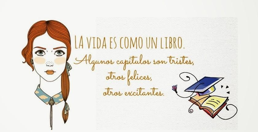 La vida es como un libro.