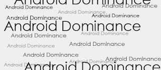 Android Dominance And Consistent Increase In Overall Smartphones Usage
