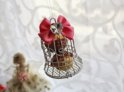 birdcage candy birthday party favors