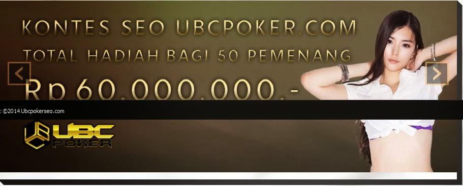 UBCPOKER.com Situs Judi Poker Online Terbaik Terpercaya