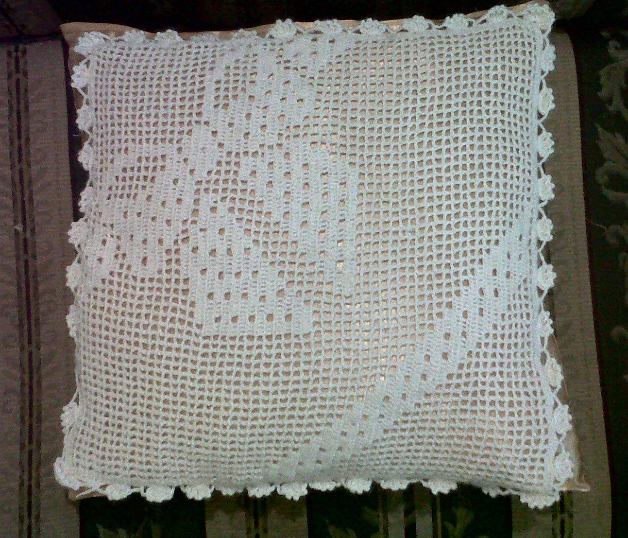 Fachalina cojines tejidos a crochet - Cojin de crochet ...