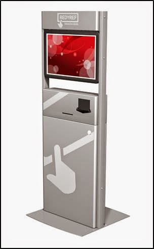 Freestanding Tablet Custom Kiosk