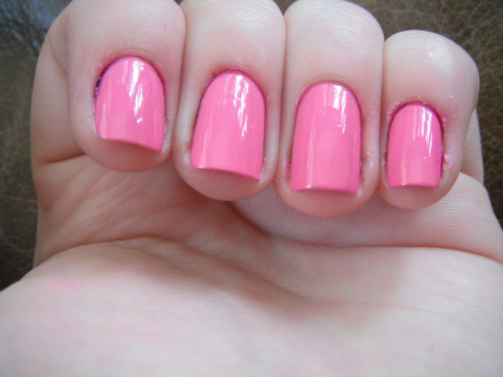 Hayles Nails Opi Pinks Comparison
