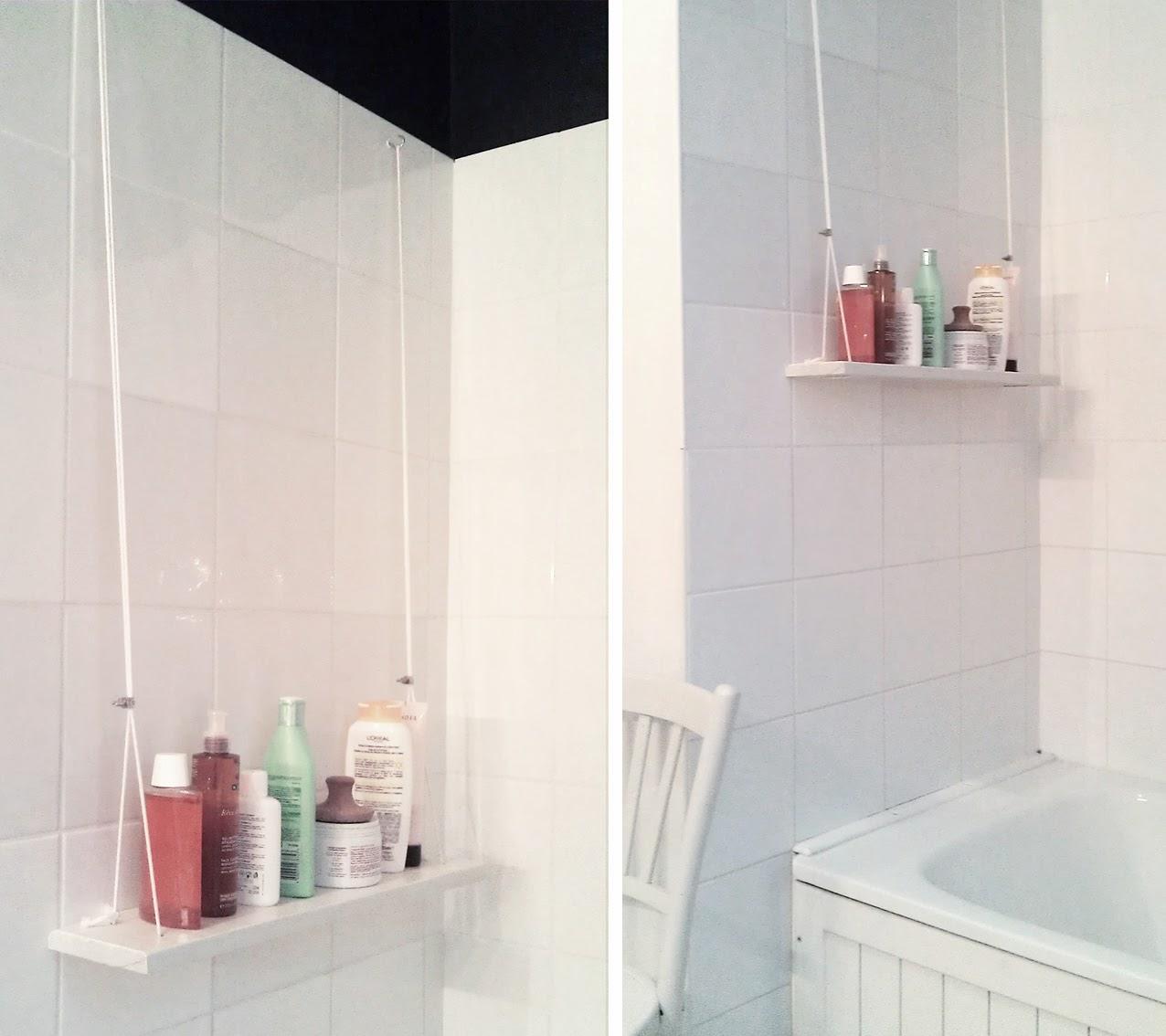 from ac m diy etag re suspendue et autres. Black Bedroom Furniture Sets. Home Design Ideas