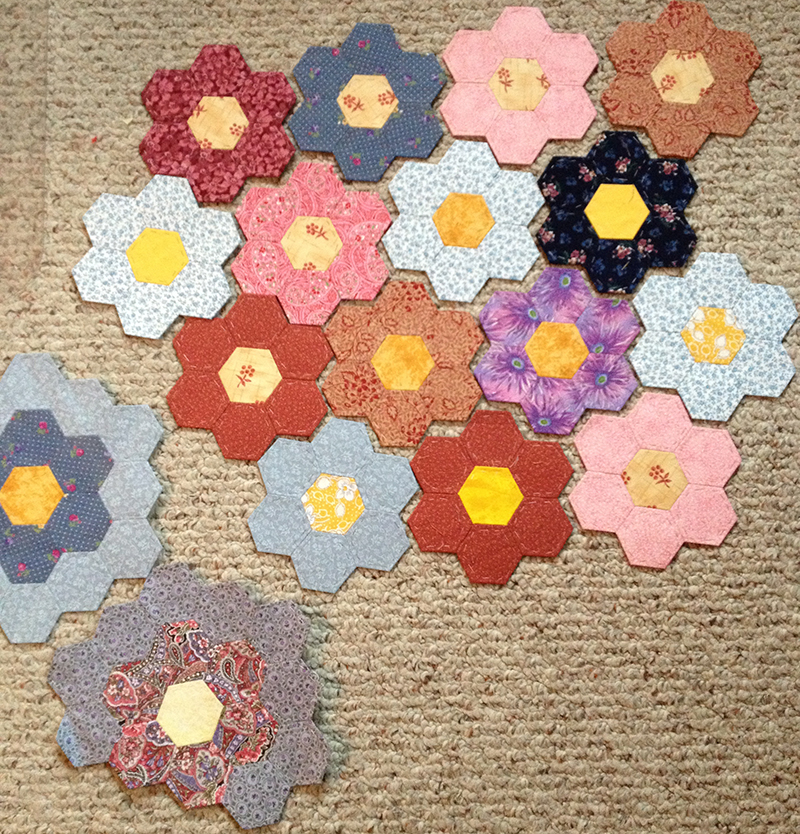 IMG 4087 Pieced Hexies: Guest Post and Two Giveaways!