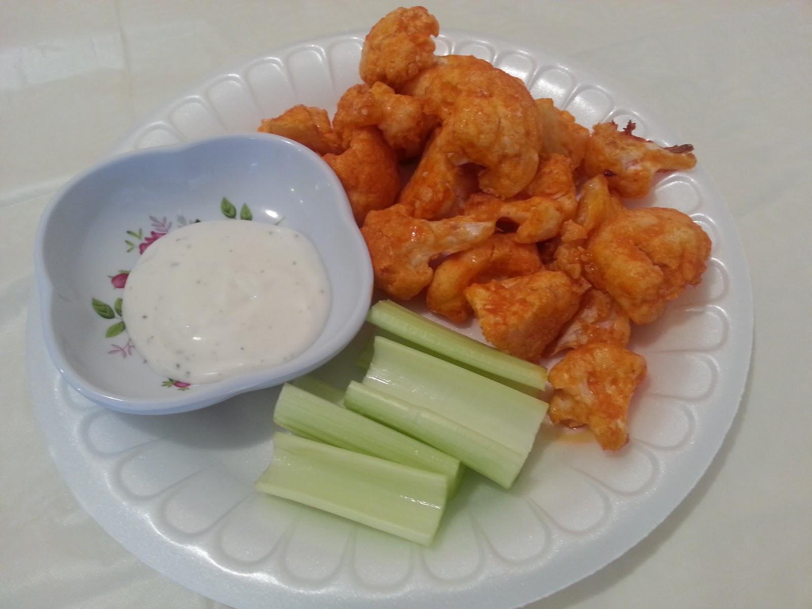 HCF: Spicy Buffalo Cauliflower Bites