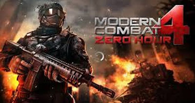 Download Modern Combat 4 Zero Hour Mod Apk Data