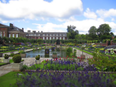 Kensington Palace from the Sunken Garden