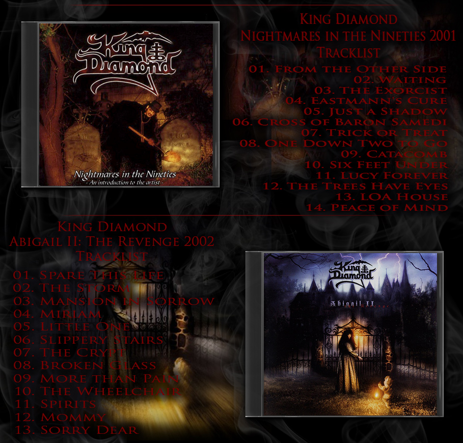 King Diamond | 1986 - 2007 | Heavy Metal