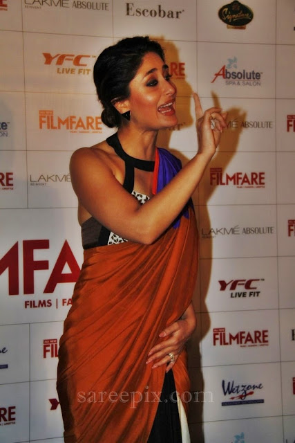 Kareena-kapoor-speech-in-saree-Filmfare-September-2013-magazine-cover-photo-launch