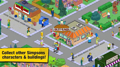 The Simpsons™: Tapped Out v4.6.0 APK + DATA Unlimited Cakes & Money Hack