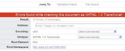 cara mengurangi error HTML dan CSS